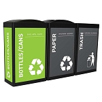 The Elite Ergocan Recycling Station - Bright