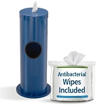Sanitizing Wipe & Waste Bin in Designer Colors w/Free Wipes Roll