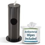Sanitizing Wipe & Waste Bin in Custom Colors w/Free Wipes Roll