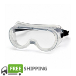 Anti-Fog Protective Safety Goggles | 10 per Case