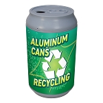 Big Can Recycler - 'Green Fizz' Aluminum Cans Recycling