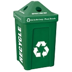Recycle Bin I in Green