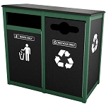 Keene Sideload Double Recycling Station - Custom