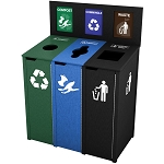The Chesterfield Triple Recycling Station - Custom