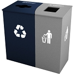 Claremont Double Recycling Station - Custom