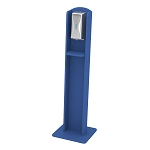 Nash Plastic Lumber Sanitizing Stand | Automatic Dispenser | Blue