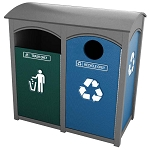 Amherst Sideload Double Recycling | Greenmate