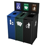 The Chesterfield Triple Recycling Station