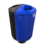 Rondelet Double-Stream Outdoor Bin