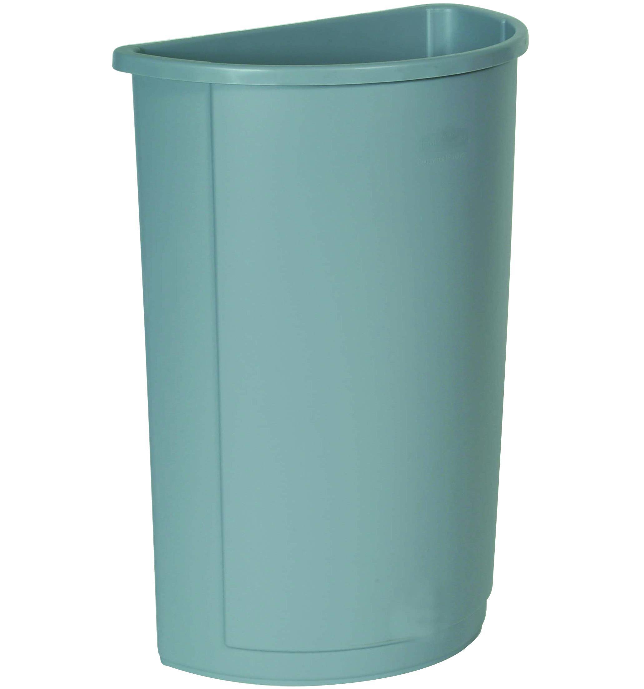 Untouchable Half Round Waste Container