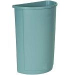 Untouchable Half Round Waste Container