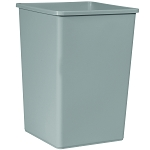 35-Gallon Untouchable Square Waste Container
