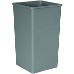 50-Gallon Untouchable Square Waste Container
