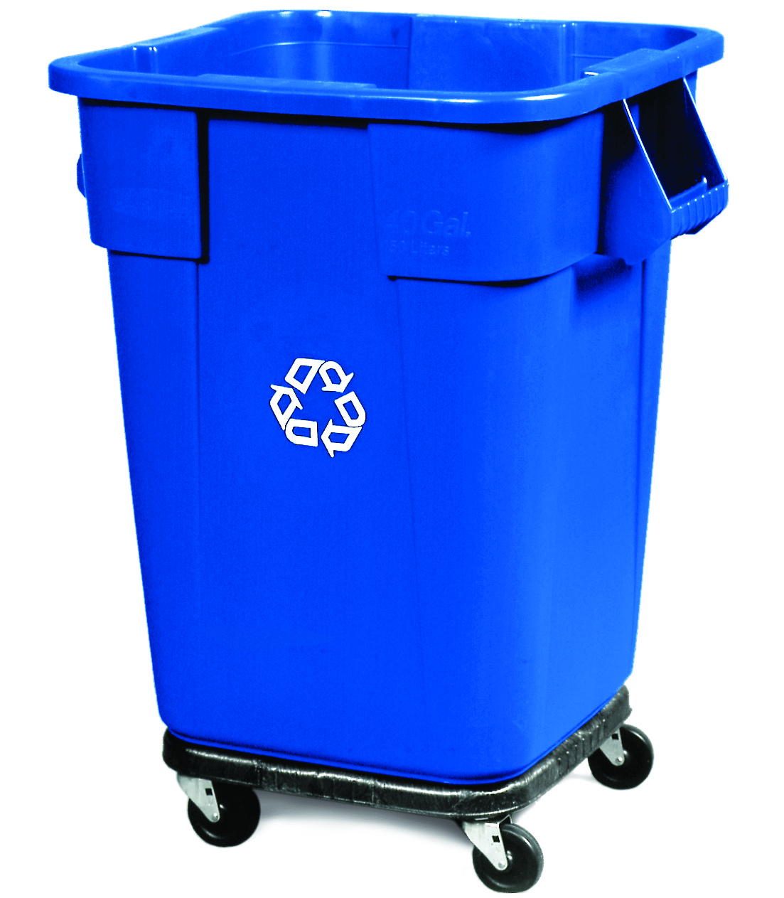 buy brute 40 gallon square recycling containers online 3536 73 recycle away. Black Bedroom Furniture Sets. Home Design Ideas