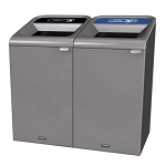 Configure Two-Stream Recycling Station in Gray