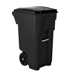 50 Gallon Wheeled Trash Can
