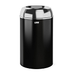 30-Gallon Metal Indoor Trash Can