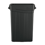 23-Gallon Resin Slim Trash Can with Handles