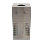 Celestial Stainless Square Receptacle