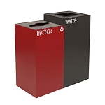 GeoCube Two-Stream Recycling Station | Custom