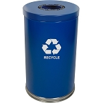 The Recycle Cylinder Single-Stream 35 Gallon