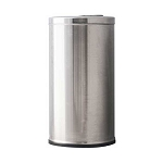 Stainless Steel Flip Top Trash Can