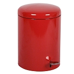 Industrial Step On Receptacle in Red - 4 Gallon