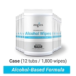 75% Alcohol Disinfecting Wipes Tub | 12 Tubs/Case