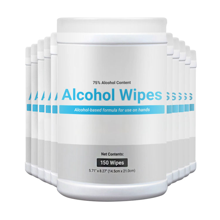 75% Alcohol Disinfecting Wipes Tub (12 tubs per case)