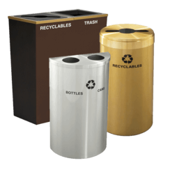 Hotel & Resort Recycling Bins