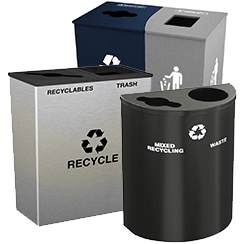 Recycling Bins for Lobbies & Meeting Rooms