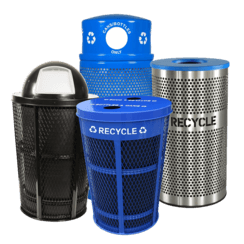Arena & Stadium Recycling Bins