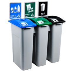 ... Office Recycling Bins · Wave U0026 Edge Collection Wave U0026 Edge Collection ·  The Simple Sort Collection