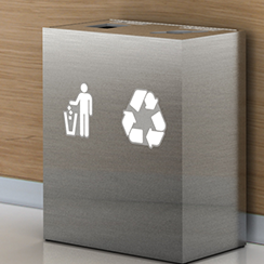 Government Office Recycling Bins