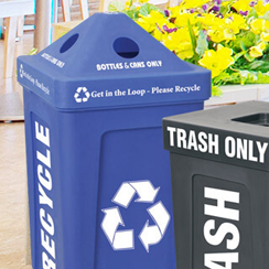Special Event Recycling Bins