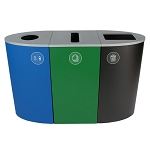 Spectrum 3-Stream Recycling Station