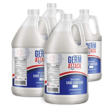 GermAttack Sanitizing Gel