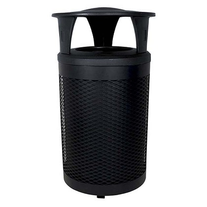 The Toronto Waste Bin with Canopy