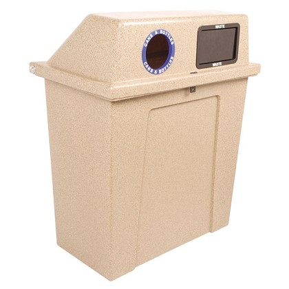 The Super Sorter Series: Two-Stream Recycling Container
