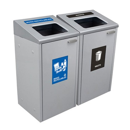 The  Ikona Waste & Recycling Double Station