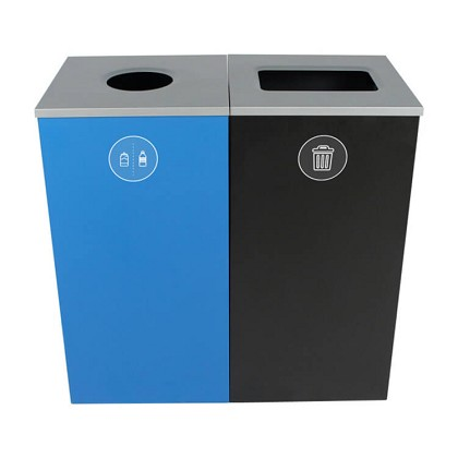 Spectrum Two-Stream Double Cube Recycling Station - Custom