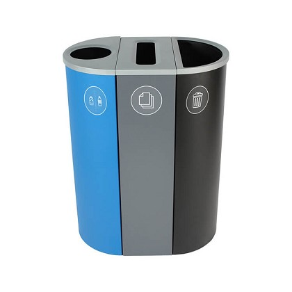 Spectrum Three-Stream Slim Recycling Station - Custom