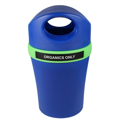 Infinite Elite Recycling Container with Canopy Top