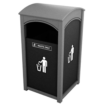 Amherst Sideload Single Waste Container