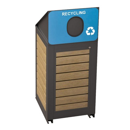 Montclair Single Recycling Container