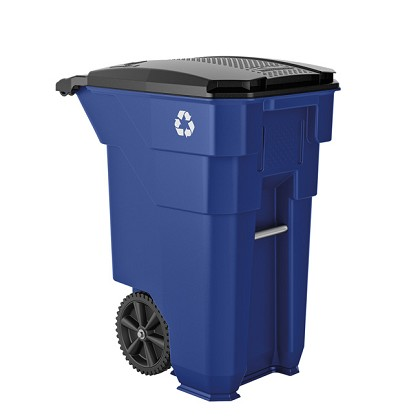 50 Gallon Wheeled Recycling Can