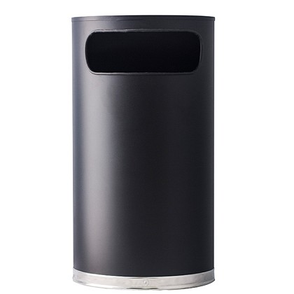 Half Round Waste Container- 9 Gallons