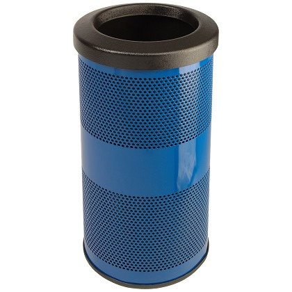Stadium 10 Gallon Perforated Waste Receptacle