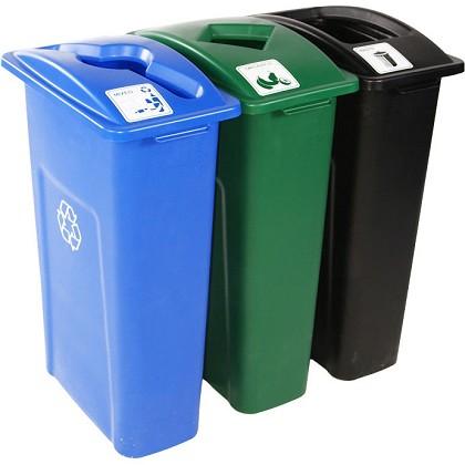 Waste Watcher Triple Recycling Bins Recycle Away