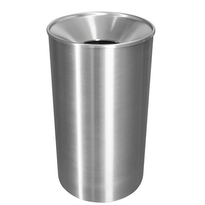 Premier Stainless Steel Waste & Recycling Receptacle
